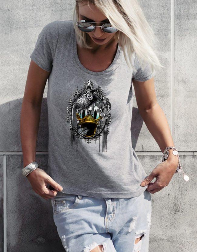 Tee Shirt Femme Mickey, T-shirt Raphael Setiano, T-shirt Disney Femme.