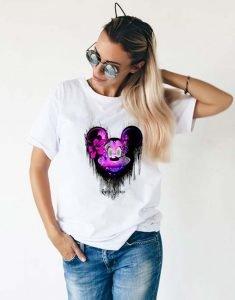 T-shirt Mickey Femme