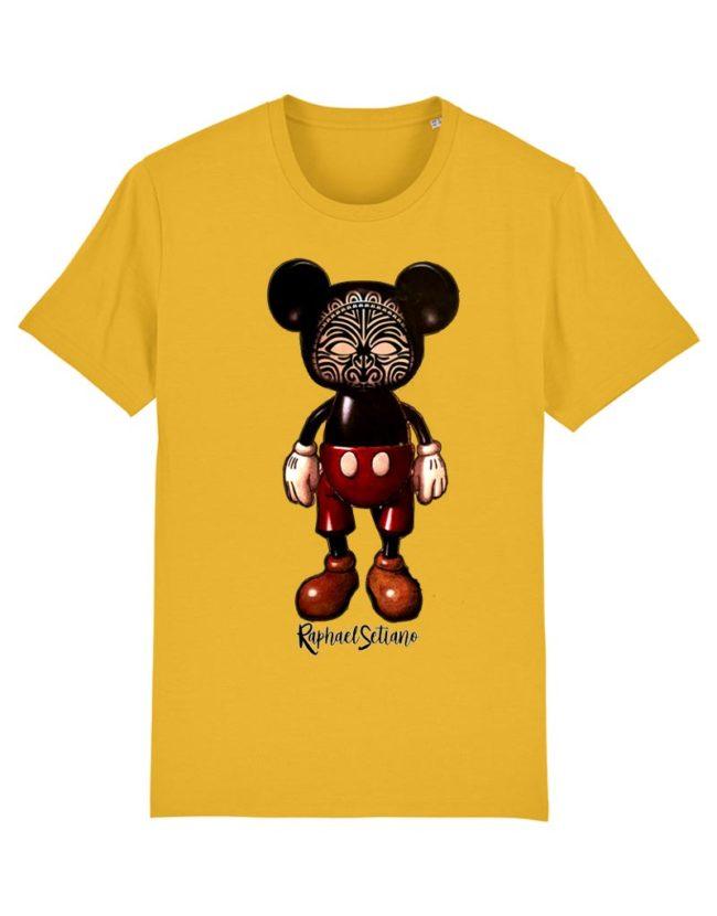 T-shirt Homme Mickey, T-shirt Raphael Setiano, T-shirt Créateur, T-shirt Mickey Tatoué,