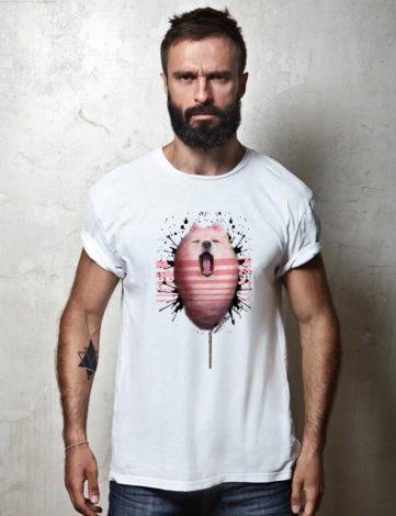 T-Shirt Homme Barbe à Papa, T-shirt Raphael Setiano