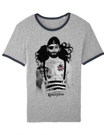T-shirt Pirate des Caraïbes Disney, T-shirt Raphael Detiano