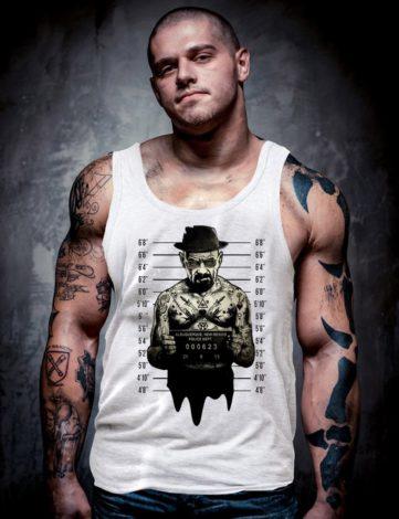 Débardeur Homme Walter White, Débardeur Breaking Bad.