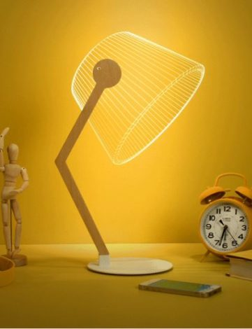 Lampe plexiglass 3D