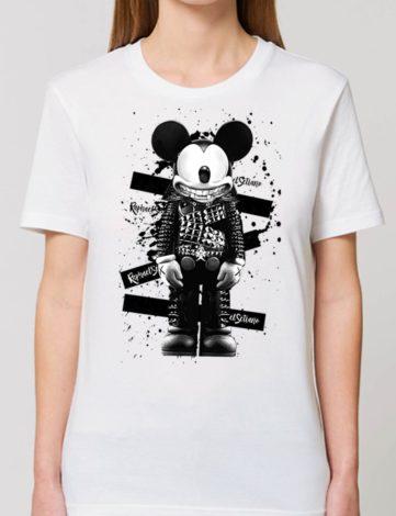Tee Shirt Oversize Mickey, T-Shirt Créateur, T-shirt Femme pas Cher.