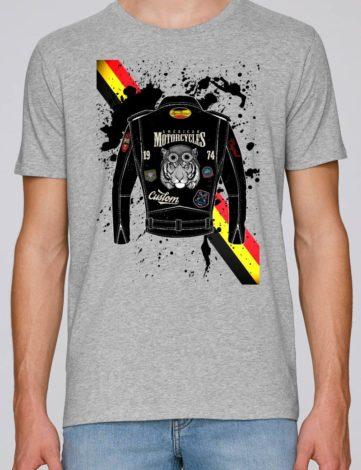 T-Shirt Homme Biker ruben , T-Shirt Orignal Homme.